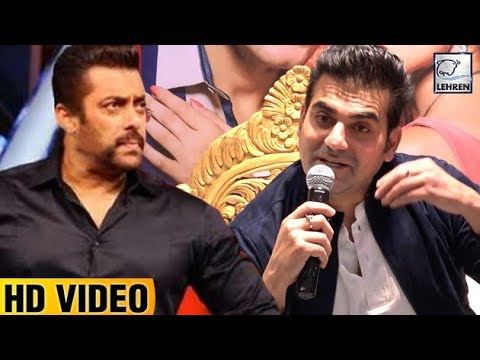 Arbaaz Khan Gets ANGRY On Working With Salman Khan