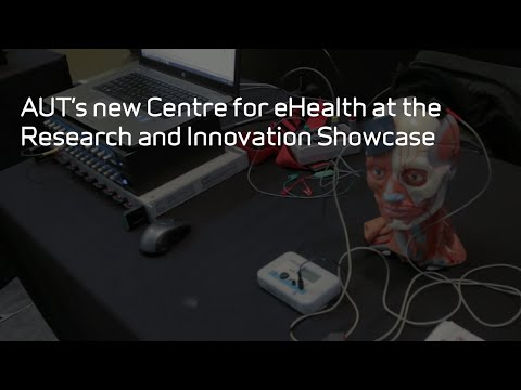 AUT's new Centre for eHealth at the Research and Innovation Showcase
