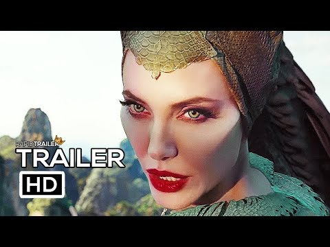 MALEFICENT 2: MISTRESS OF EVIL Official Trailer #2 (2019) Angelina Jolie, Disney Movie HD