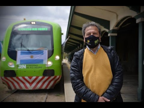 Rionegrinos, mochileros y hasta turistas japoneses en el regreso del Tren Patagónico