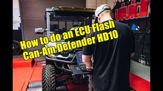 10. How to ECU Flash the Can-Am Defender XT UTV