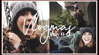 BUYING & DECORATING THE CHRISTMAS TREE | VLOGMAS