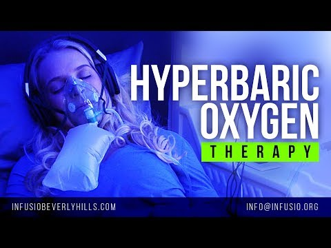 Hyperbaric Oxygen Therapy Chamber in Los Angeles, CA | Infusio Beverly Hills