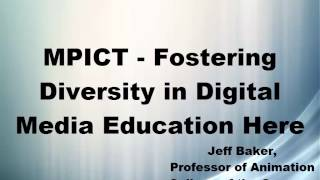 MPICT   Fostering Diversity in Digital Media Education 01 07 2014