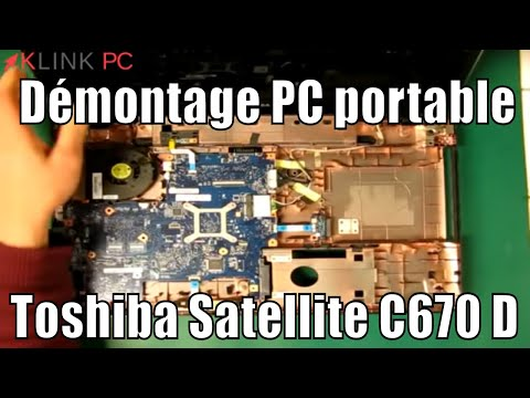 comment demonter toshiba satellite c660