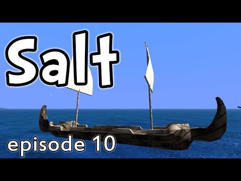 e10 - Let's play SALT the game (early access)! In this episode, we hunt down the three remaining pirate captain bosses for their Pardon Pusher boat pieces! We use BOMBS and POISON to get what we...