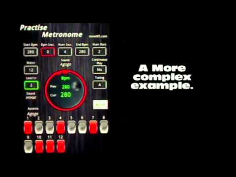 Video of Practise Metronome