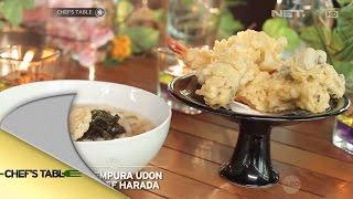 Video Chef's Table - Ebi Tempura Udon Ala Chef Harada MP3, 3GP, MP4, WEBM, AVI, FLV Desember 2018