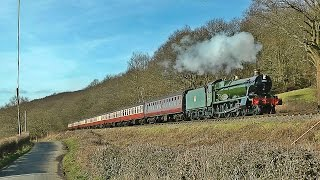 Visiting from the Great Central Railway, 6990 'Witherslack Hall' had been due to appear at the Severn Valley Railway's 2016 'Spring Steam Gala'. However, due...