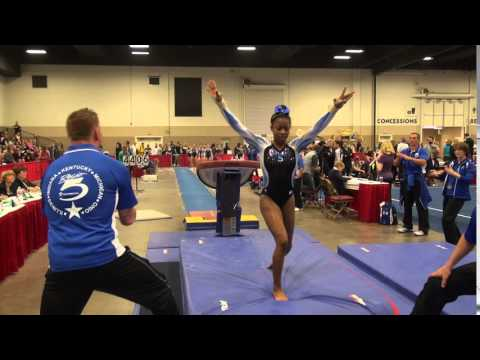 Sierra Brooks 2016 JO Nationals Vault