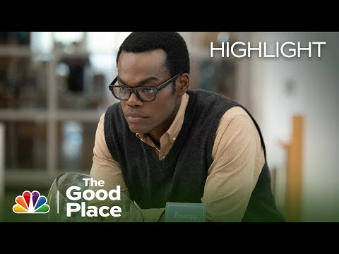 Chidi Is Freaking Out Over His Idol - The Good Place