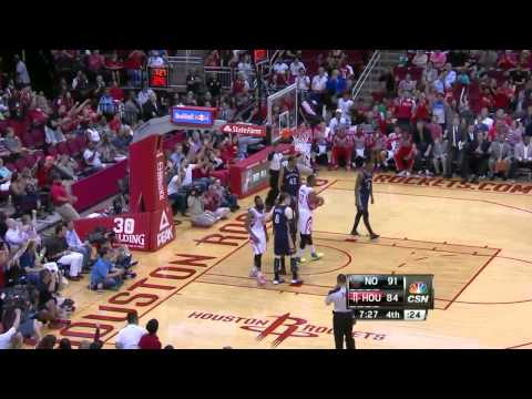 NBA Highlights: Pelicans @ Rockets 4/12/2014