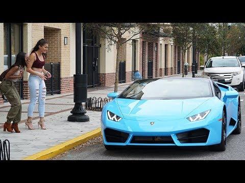 Picking Up Uber Riders In A Lamborghini Huracan!!!