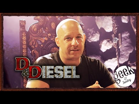 Vin Diesel Plays Dungeons  Dragons in D Diesel