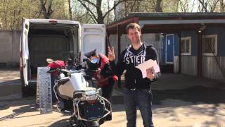 10. 2015 BMW R1200GS Adventure Unpacking and first ride