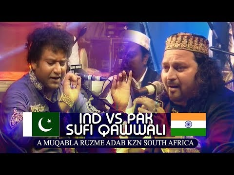 Video CHAND QADRI AFZAL CHISHTI & NAZIR EJAZ #India vs Pakistan #South Africa Program download in MP3, 3GP, MP4, WEBM, AVI, FLV January 2017