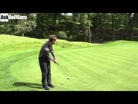 Downhill 100 Foot Golf Putts Are Easy