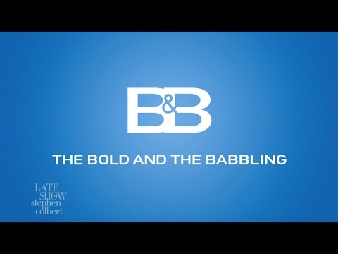 'The Bold And The Babbling' Starring Sean Spicer