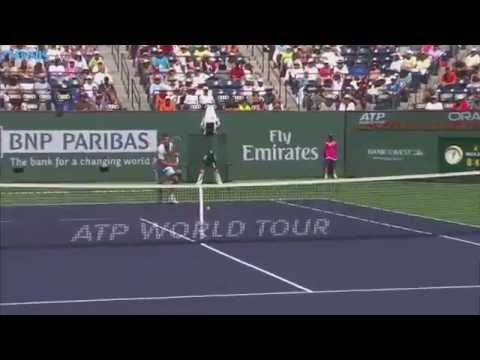 Tennis, ATP Indian Wells: fantastico scambio vinto da Federer! [VIDEO]