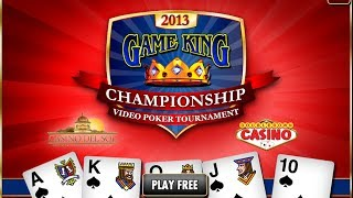 The Game King Championship - World's Largest Video Poker Tournament