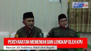 Paslon Iskandar dan Awe Resmi Daftar Ke KPU Pemalang (HARIANSIBER TV)