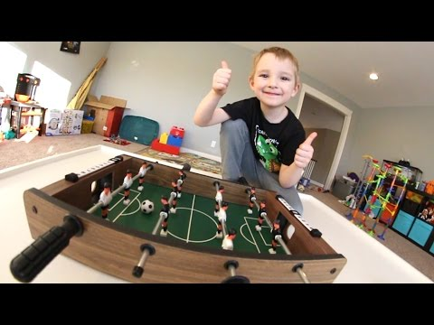 FATHER SON MINI FOOSBALL!