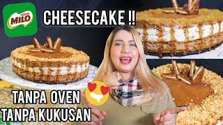 Video COOKING WITH TASYI : EP 19 - RESEP MILO CHEESE CAKE ( TANPA OVEN TANPA KUKUSAN) MP3, 3GP, MP4, WEBM, AVI, FLV Mei 2019