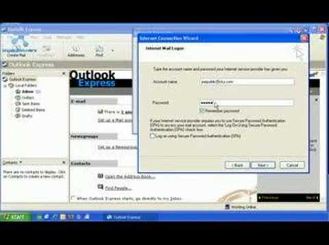 comment installer outlook express