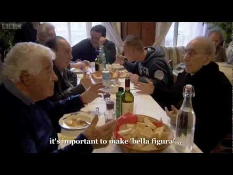 cooking in Italy - Broadcast on BBC Two, 26 Apr 2012. The duo explore how Italy's social history has created a culture of admiration for superficial accoutrements in the showbi...