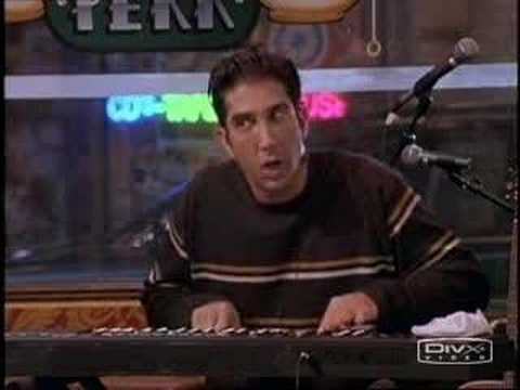 ross - Here's Ross Gellar performing his outstandingly hilarious music.