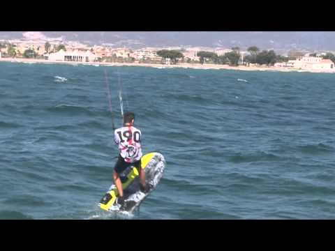 Kiteboard Course Racing World Championship 2012 Cagliari