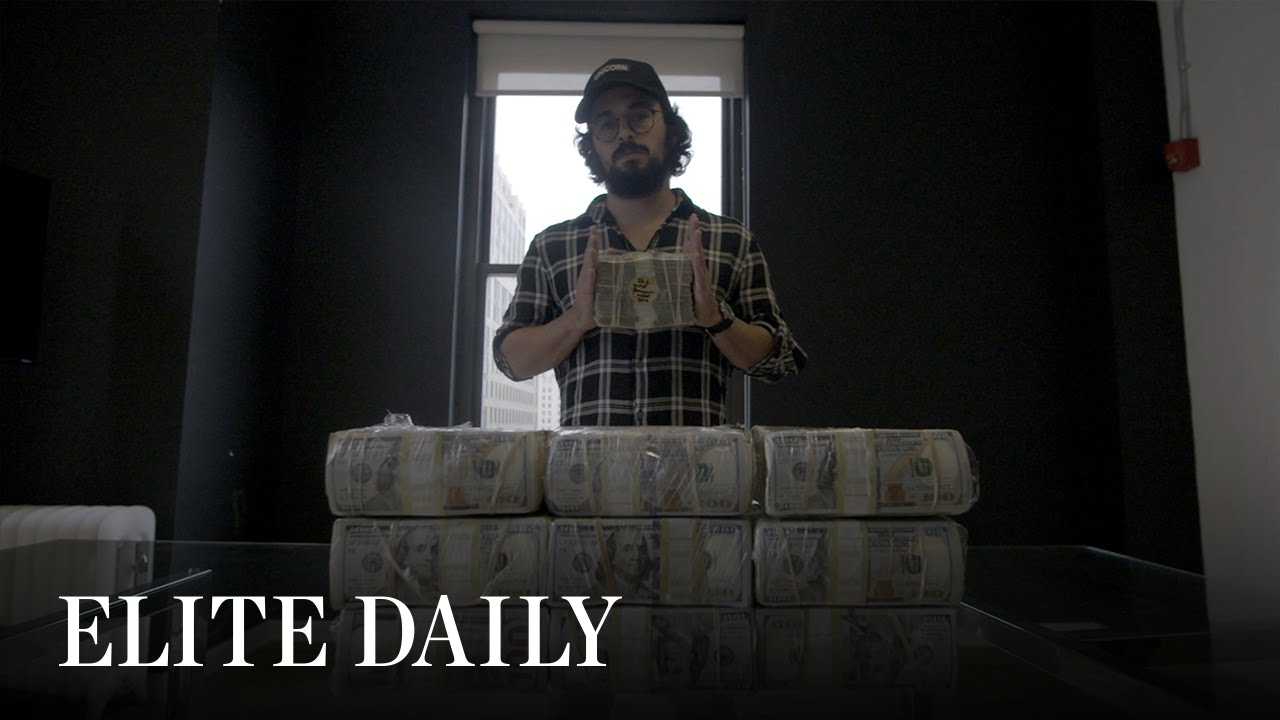 This Guy Carried Around $1 Million In A Clear Duffel Bag And Called It Art