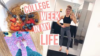 Healthy College Week in My Life! workouts, prepping for spring break, midterms + more!
