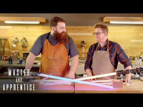 Master & Apprentice: Star Wars - Custom Lightsabers  Rooster Teeth