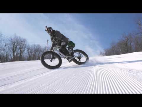 Mountain Creek Bikes On Snow Winter 2016