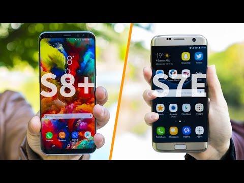 Galaxy S8+ VS Galaxy S7 Edge le fight (видео)