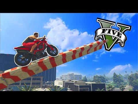 GTA V Online: PARKOUR de MOTO com SALTOS INSANOS!!_Legjobb vide�k: Extr�m
