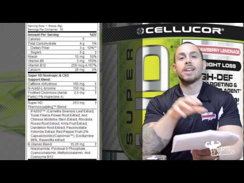 Super HD by Cellucor Review Fat Loss