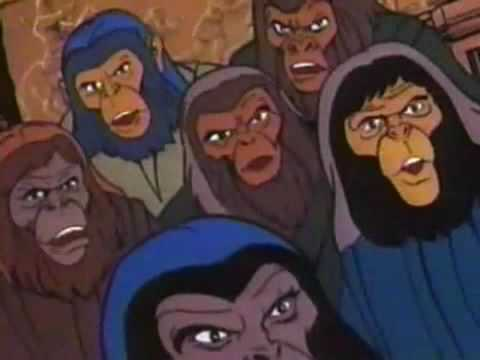 Return to the Planet of the Apes (Cartoon) 1