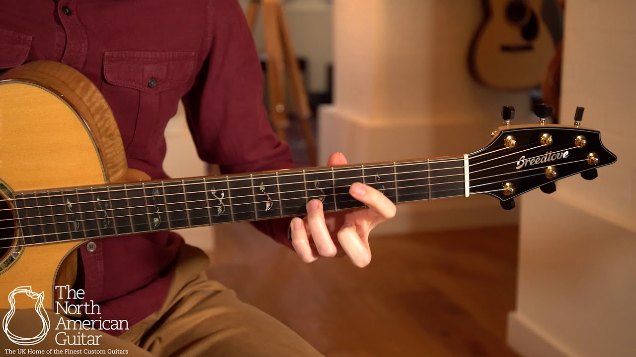 Breedlove Masterclass Concert CE Electro Acoustic Guitar Played By Will McNicol (Part Two)