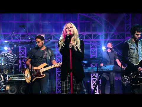 Avril Lavigne - When Youre Gone - Live on David Letterman 09/05/2007 HD