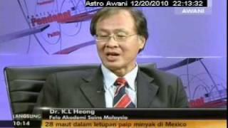 In December 2010, Dr. K.L. Heong, a senior scientist at the International rice Research Institute (IRRI; http://irri.org ) responsible for research on arthropod ...