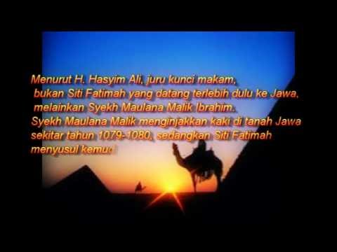 Sejarah Siti fatimah binti Maimun
