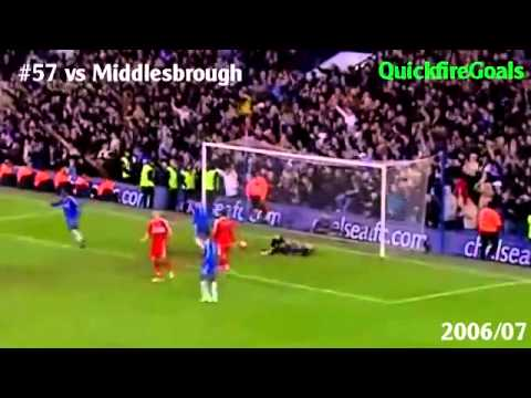 Didier Drogba's 150 Chelsea Goals 2008_2012