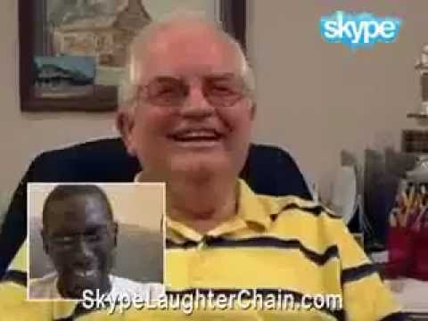 Заразительный смех в Skype