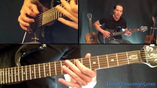 Download Lagu Wherever I May Roam Guitar Lesson - Metallica - Famous Riffs Mp3