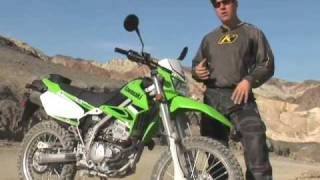 4. 2009 Kawasaki KLX250S Motorcycle Review