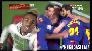 Download Video Barcelona 5-0 Celta TrashGo! Dembele shows signs of greatness! MP3 3GP MP4