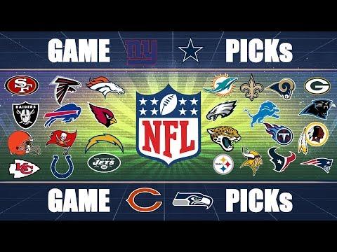 NFL Picks Predicting EVERY GAME: Week 2