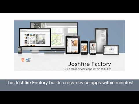 intranet factory - Generate cross-device apps in 5 steps without code with the Joshfire Factory. Test it at: http://factory.joshfire.com.